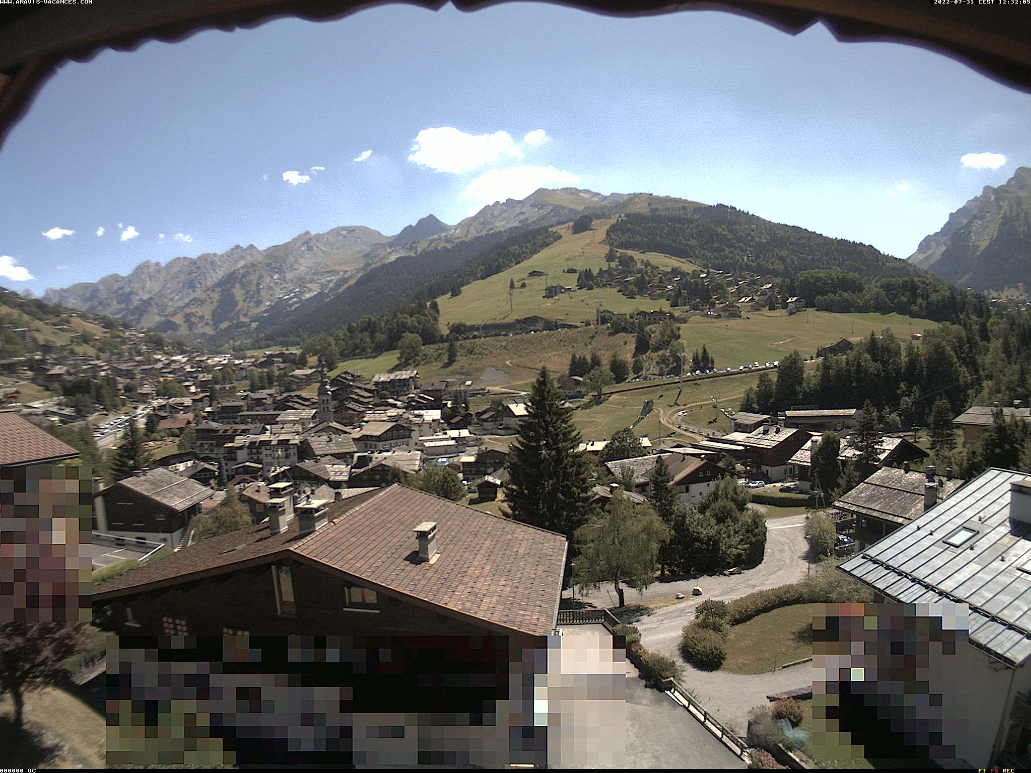 Webcam chalet Aurore